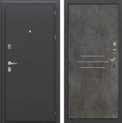 Входная металлическая дверь Лекс Колизей Бетон тёмный (панель №82)