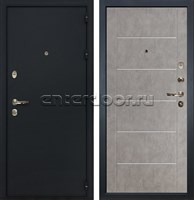 Входная металлическая дверь Лекс 2 Рим Бетон серый (панель №80)