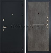 Входная металлическая дверь Лекс 2 Рим Бетон тёмный (панель №82)