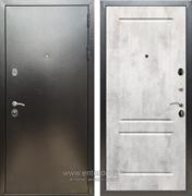 Входная металлическая дверь Сенатор Практик 3К ФЛ-117 (Антик серебро / Бетон светлый)