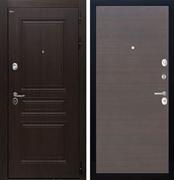 Входная стальная дверь Интекрон Брайтон (Тиковое дерево / ЭкоВенге)