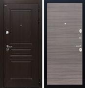 Входная стальная дверь Интекрон Брайтон (Тиковое дерево / Дуб Тоскано)