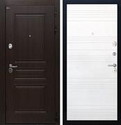 Входная стальная дверь Интекрон Брайтон ФЛ-316 (Тиковое дерево / Ясень белый)