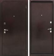 Входная металлическая дверь Ратибор Дачная (Антик медь / Антик медь)