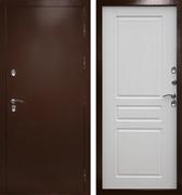 Уличная входная дверь с терморазрывом Армада Термо Сибирь 3К (Антик медь / Лиственница)