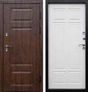 Уличная входная дверь с терморазрывом Армада Термо Сибирь 3К (Орех премиум / Лиственница)