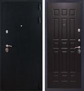 Входная стальная дверь Лайт 3К (Черный Бархат / Венге)