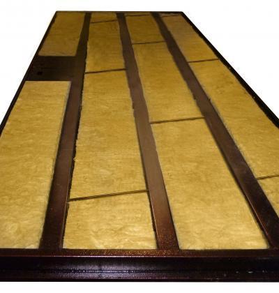 звукоизоляция железной входной двери материал