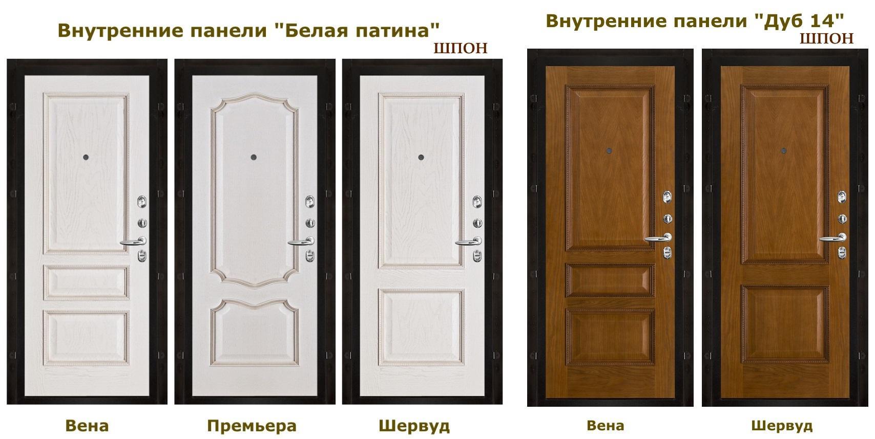входная дверь белая внутренняя