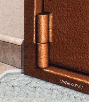 металлические стальные двери фирма брон